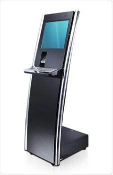 Precise Kiosk Machine eases for users with an external keyboard stand on the bottom of the touch screen monitor which is capacitive in nature. It is very easy to install and slightly thin body which feels good for the users.