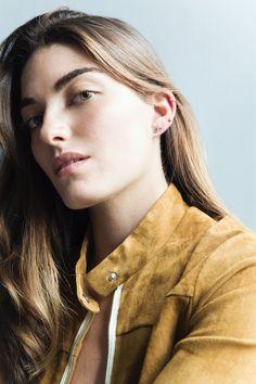 Venus By Maria Tash, Designers, Pearl Earrings, Fashion, Dinghy, Pearl Drop Earrings, Moda, Pearl Studs, Fasion