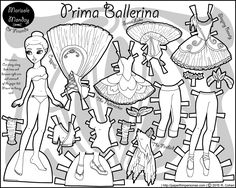 60 best crafts paper dolls images in 2019 paper dolls printable 60 Inch Christmas prima ballerina a ballerina paper doll