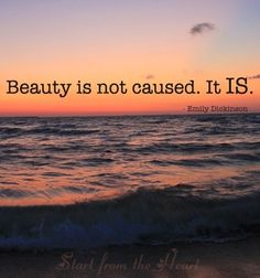 Beauty quote via www.Facebook.com/StartFromTheHeart