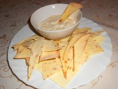 Házi nachos recept Nachos, Camembert Cheese, Tapas, Goodies, Mexican, Eat, Ethnic Recipes, Food, Sweet Like Candy