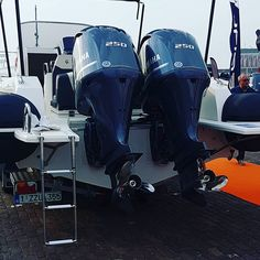 Beauty and the beast! 500 horsepower good for more than 55 knots. Rigid Inflatable Boat, Power Boats, Boating, Ribs, Beauty And The Beast, Knots, Instagram, We, Motor Boats