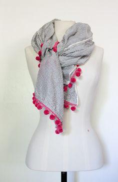 diy scarf. very cute.