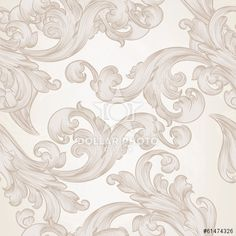 http://br.dollarphotoclub.com/stock-photo/Seamless vector wallpaper pattern with swirl floral element/61474326 Dollar Photo Club milhões de imagens por US$ 1 cada