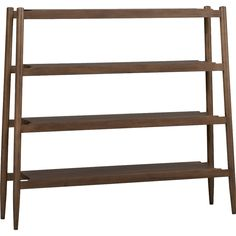 What about this bookcase? Crate and Barrel outlet  PresidioBookcase3QF13