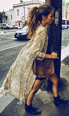 Spell And The Gipsy Collective Snakeskin Print Maxi Kimono