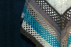 Mesh Shawl - free crochet pattern by Bethany at Kick Arse Crochet