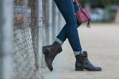 Wearing the perfect comfy fall look with @bornshoes boots from @dillards on #HelloGorgeous!