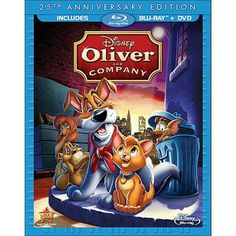 Oliver and Company (25th Anniversary Edition) (2 Discs) (Blu-ray) : Target