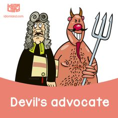 #idiom #idioms #english #learnenglish #englishidioms #devil #advocate