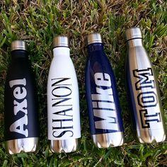 Tumbler-Water Bottle-Personalized Tumbler-Beach