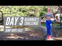 JUMP FIT FREE BEGINNERS CHALLENGE DAY 3 JUMP ROPE FAST - YouTube