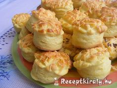Sajtos pogácsa II   Receptkirály.hu Pastry Recipes, My Recipes, Healthy Recipes, Serbian Recipes, Hungarian Recipes, Cooking Hard Boiled Eggs, Hungarian Cuisine, Food Porn, Cooking Dried Beans