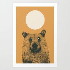 Sun bear Art Print by deanng Bear Character, Bear Art, Sun, Art Prints, Artist, Design, Art Impressions, Artists