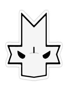 """Castle Crasher"" Stickers by cyberwolf247 | Redbubble"