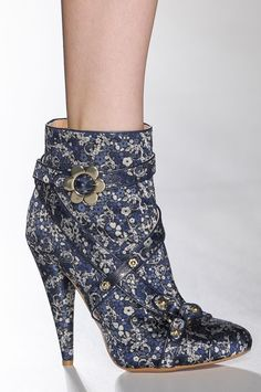 Best in Shoe: See Over 450 Perfect Pairs From the Spring '13 Runways: Mulberry