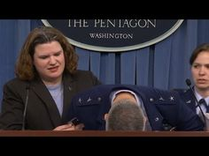 Major general faints during news conference - LIKEMEVIDEO