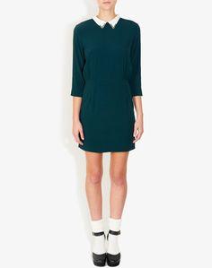 In fulfilling my Cher Horowitz dreams... RODÉO BOTTLE GREEN DRESS $390.00