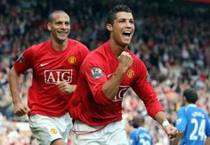 Cristiano Ronaldo Ejek Gaya Latihan Rio Ferdinand - Goal.com Indonesia
