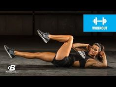Day 19 | At Home Cardio and Core Workout | Clutch Life: Ashley Conrad's 24/7 Fitness Trainer - YouTube