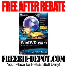 ►► FREE AFTER REBATE - WinDVD Pro 11 + FREE $10 Gift Card - MONEY MAKER! FREE Shipping - Exp 7/31/15 ►► #Corel, #FreeAfterRebate, #FREEShipping, #FREEbate, #MoneyMaker, #NeweggCom ►► Freebie-Depot