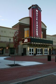 A new idea in movie going or eating and drinking depending on your priorities. The movie tavern is located in the Providence Town Center along Route 422.