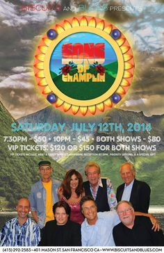 Sons of Champlin Show~ July 12th