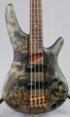 Ibanez SR800 SR-Series Bass Guitar | Poplar Burl Top - Yandas Music - 2