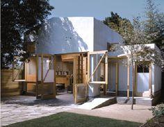 Dry design converted garage in LA.