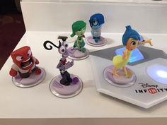Closer Look At Disney Infinity 3.0's Inside Out Figures
