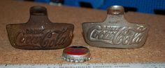 2 Authentic Coca Cola/Star X 1925-1939 Bottle Openers by ourPastourFuture on Etsy