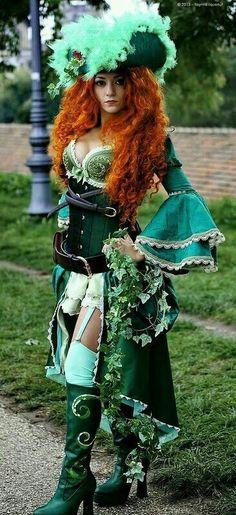 Steampunk Poison Ivy