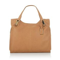 """Vince Camuto """"Riley"""" Bubble-Embossed Leather Tote"""