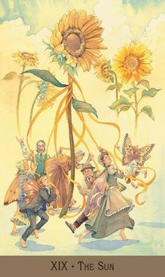 The origins of the Tarot are surrounded with myth and lore. The Tarot has been thought to come from places like India, Egypt, China and Morocco. Others say the Tarot was brought to us fr The Sun Tarot Card, Tarot Cards For Beginners, Tarot Astrology, Tarot Major Arcana, Tarot Card Meanings, Tarot Readers, Oracle Cards, Fairy Art, Fantasy