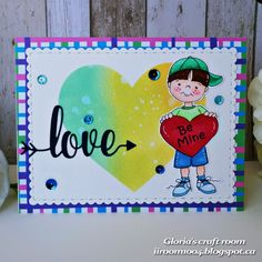 Gloria's craft room: love