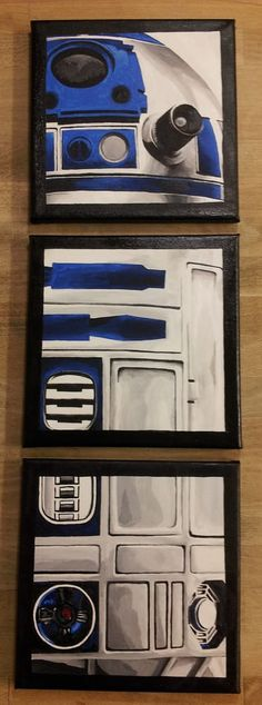 This artist created gorgeous STAR WARS paintings because she was bored