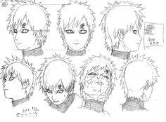 Naruto-Expo: Model sheet ou Settei Naruto (1)