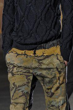 Dries Van Noten Men's Details S/S '14