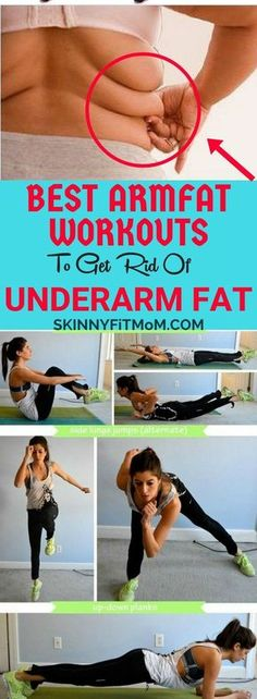 Best Armpit Fat Exercises To Get Rid of Underarm Fat and Back Bulge In less than 7 Days. Pinned over 5k Times