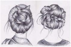 hair drawing - Penelusuran Google - image #1679981 by Mrzcho on ...