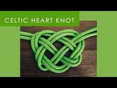 How to Make a Celtic Heart Knot - St. Patrick's Day DIY