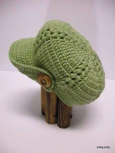 Meu Mundo Craft: Boina em crochê