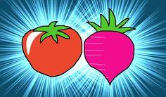 Tomato And Radish / トラ (トマトとラディッシュ) / #WSVGA #Food #Vegetable #Healthy