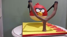 Angry bird gravity cake - Cake by Christina Papadopoulou