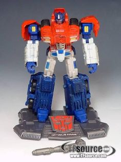 #transformer titanium - optimus prime - war within - 100% complete