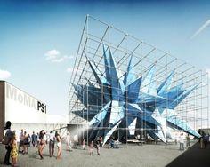 "HWKN's ""Wendy"" Pavilion, This Summer at MoMA PS1"