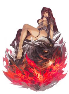Ifrit by ~Aoinhatsu on deviantART