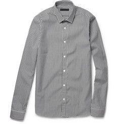 Burberry Prorsum Gingham Check Cotton Shirt   | MR PORTER