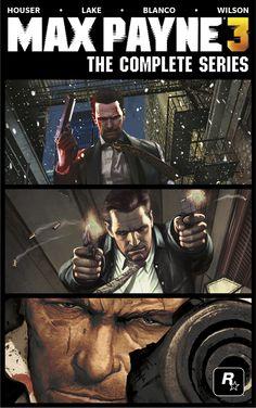 Titan Books Publishing Hardcover Max Payne 3 Prequel Comic Collection