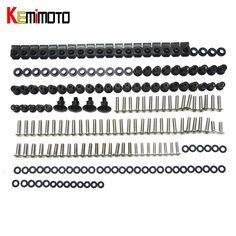 [Visit to Buy] KEMiMOTO For Ducati 848 1098 1198 Motorcycle Fairing Bolt Screw Fastener Nut Washer For Ducati 848 1098 1198 2007 2008 2009 2010 #Advertisement